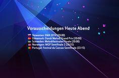 Heute Abend: Zwei Semifinale und drei Finale - http://www.eurovision-austria.com/heute-abend-drei-finale-und-ein-semifinale/