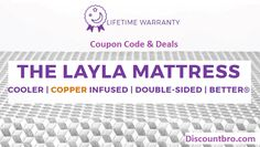 Layla Mattress Coupon Code to save $60 off Now. Redeem layla sleep Coupons & Disocunts to save $60 on the copper infused memory foam mattress.