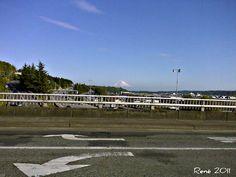 Mt Rainier from Albro Pl Bridge...  Seattle WA