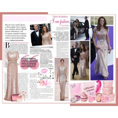"""Duchess of Cambridge - Jenny Packham at ARK Gala"" by perth-fashion-stylist on Polyvore"