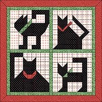 Several cat quilt patterns (applique, blocks, paper pieced)