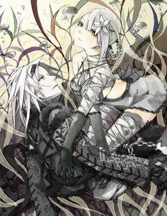 NieR - Kaine and Nier