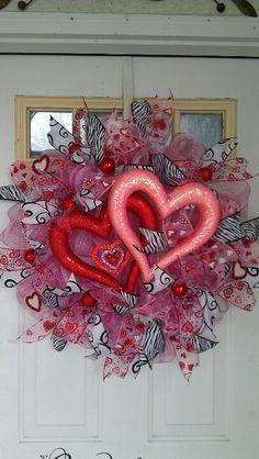 Valentine Wreath:)