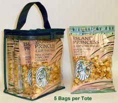 Macadamia Nut Popcorn Crunch, 5oz Bag