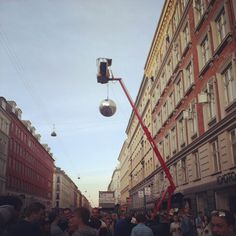 The annual Copenhagen three day street party Distortion