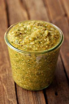 Slow Cooker Chicken Chile Verde - Gluten-free, Dairy-free, Paleo-friendly