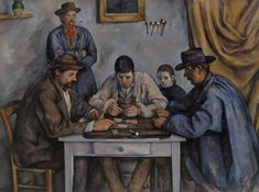 The Card Players by Paul Cezanne is among the world's leading collections of French Impressionist and Post-Impressionist paintings found at The Barnes Foundation in Philadelphia. (Credit: The Barnes Foundation)