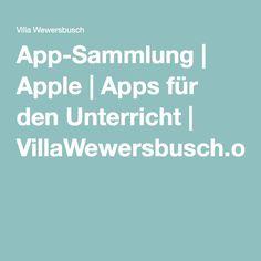 App-Sammlung | Apple | Apps für den Unterricht | VillaWewersbusch.org
