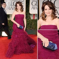 She looks gorgeous! #GoldenGlobes