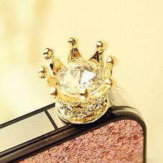 Crown headphone jack.