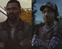 oml this is too cute The Walking Dead Ps3, The Walking Death, The Walking Dead Telltale, Walking Dead Series, Lee Everett, Clementine Walking Dead, Like Father Like Daughter, Twd Memes, Detroit Become Human