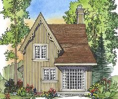 gothic house plans