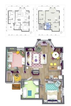 Why use costly and complicated CAD software to create a floor plan or design a room? Create the professional interior design drawings you need - quickly, easily and affordably. By Vicent T Ezebeat Layouts Casa, House Layouts, Sims 4 Houses Layout, Interior Design Software, Interior Design Business, Sims 4 House Plans, House Floor Plans, The Plan, How To Plan