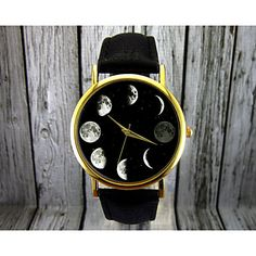 Are you a space fan? Check out this cosmic moon wrist watch for only $6.39