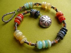 Beautiful boho bracelet: Using buttons? By brends mcgowen, etsy
