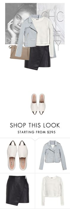 """""""Chic in the city"""" by angel-from-heaven ❤ liked on Polyvore featuring Miu Miu, Justin Bieber, IRO, Helmut Lang, Rebecca Taylor and 3.1 Phillip Lim"""