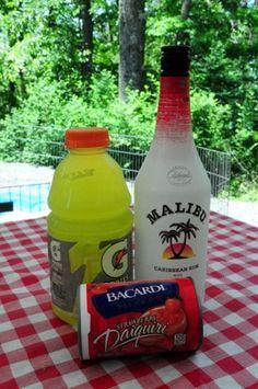 Liquid Skittles Mixed Drink 6 oz. Malibu Mango Ru   Pinterest Most Wanted