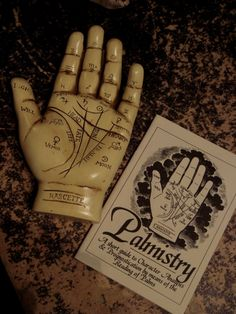 creepy dark antique palm gothic occult antiques palmistry fortune teller Palmist creepy antiques...but yet kind of cool