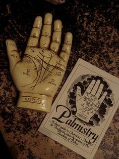 creepy dark antique palm gothic occult antiques palmistry fortune teller Palmist creepy antiques