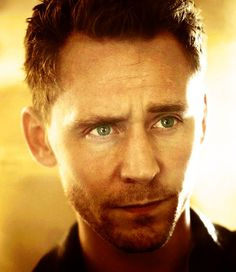 Tom Hiddleston is hot in that he plays the bad boys, but you know he's really a sweet heart. Awe