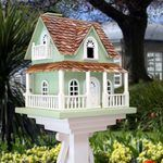 Hobbitt House Green Birdhouse