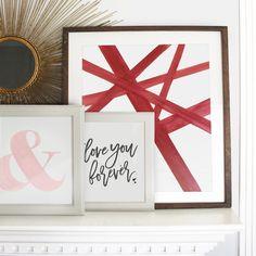 Three free Valentine's Day prints ❤️