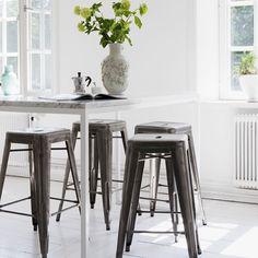 Industrial stools - love them