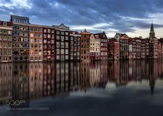 Damrak Amsterdam. by IgorSukmansky. @go4fotos