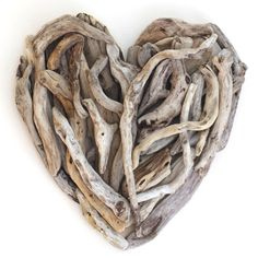 Driftwood heart - amazing driftwood creations by driftwood dreaming