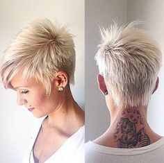 short funky hairstyles for grey hair by rosethomasuk