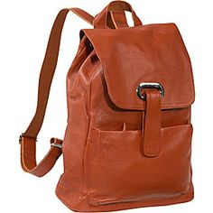 AmeriLeather Miles Backpack - Brown - via eBags.com!