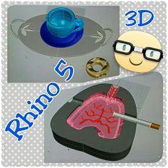 Modellazione digitale 3D con Rhinoceros. Esercizio 2