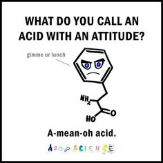 Read funny chemistry jokes, chemistry puns and chemistry pick up lines. Laugh with Chemistry Jokes for free! Science Puns, Funny Science Jokes, Nerd Jokes, Puns Jokes, Funny Puns, Funny Humor, Nerd Funny, Most Funny Jokes, Geology Puns