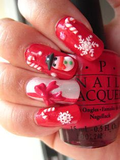 Nails. ready for Christmas