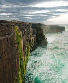 Cliffs on Inis Meain | Aran Islands, Galway Ireland {happy place}