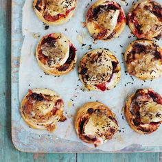 Goat's Cheese and Beetroot Tarts Recipe | For the full recipe and more dinner party ideas, visit Red Online