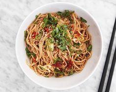 Noodle Nirvana: These Chilled Sesame Soba Noodles - Bon Appétit | Bon Appetit