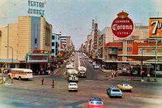 Avenida Juarez Y Calzada Independencia 1970