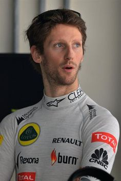 Romain Grosjean Lotus F1 Team