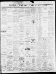 HINDS COUNTY, Mississippi - Jackson - 1866 - Daily Clarion and Standard « Chronicling America « Library of Congress