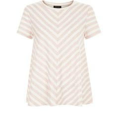 New Look Pink Stripe Swing T-Shirt 3731001 Bring stripes into your daytime wardrobe with this swing t-shirt - ideal teamed with blue skinny jeans and slip on plimsolls for the current season.- All over stripe print- Rounded neckline- Simple sh http://www.MightGet.com/march-2017-1/new-look-pink-stripe-swing-t-shirt-3731001.asp