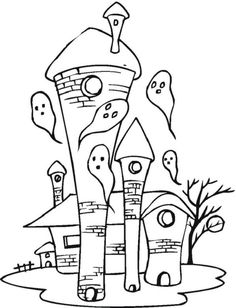halloween coloring pages ghost  coloring kids  Pinterest