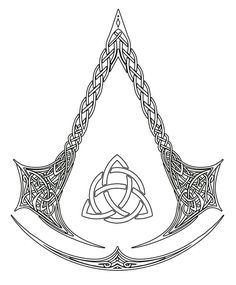 DeviantArt: More Like Assassin's Creed Logo Tattoo Commission by kerae Assassins Creed Tattoo, Tatouage Assassins Creed, Assassins Creed Game, Symbolic Tattoos, Unique Tattoos, Body Art Tattoos, Tatoos, Assassin's Creed Brotherhood, Funny Tattoos