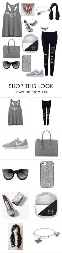 """""""Untitled #144"""" by m00nchild666 ❤ liked on Polyvore featuring Gap, WithChic, NIKE, Prada, Gucci, Nanette Lepore, Burberry and Alex and Ani"""
