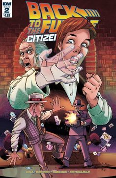 Back to the Future Citizen Brown (2016) Issue #2