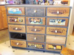 Attrayant Be Neat With License Plates | Furniture Remake | Pinterest | License Plates,  Dresser And Glass.