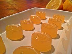 Lemon & Pineapple Protein Jubes | fastPaleo Primal and Paleo Diet Recipes