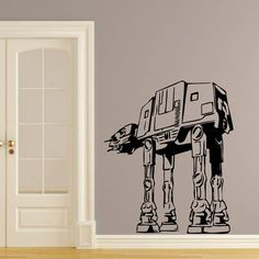Dear Buyers, Welcome to our shop TrendyWallDecals!    Wall Decals Vinyl Sticker Decal Art Home Decor Mural Star Wars AT-AT Walker Kids Children