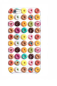 Mini Donuts iPhone 6 Case http://shop.nylon.com/collections/whats-new/products/mini-donuts-iphone-6-case #NYLONshop