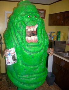 //slimer costume//